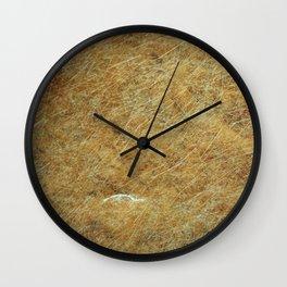 Stoned rifled Wall Clock