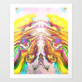 And Suddenly the Sky Opened Up... Art Print