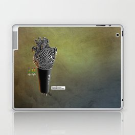 CRZN Dynamic Microphone - 003 Laptop & iPad Skin
