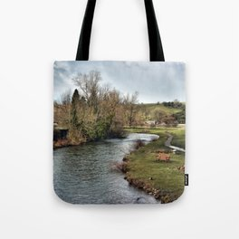 River Wye at Bakewell Tote Bag