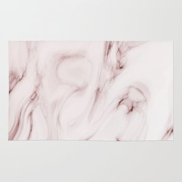 Red marble pattern Rug