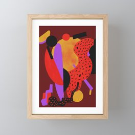 Jazz up Framed Mini Art Print