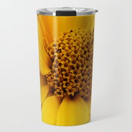 sunny yellow Travel Mug
