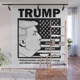 TRUMP Making America Great Again Wall Mural
