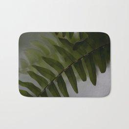 Upside down leaves Bath Mat