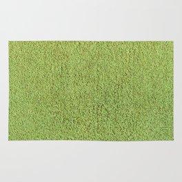 Phlegm Green Shag Pile Carpet Rug