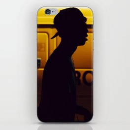 Yellow van Australian man iPhone Skin