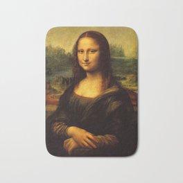 Mona Lisa - Leonardo da Vinci Bath Mat