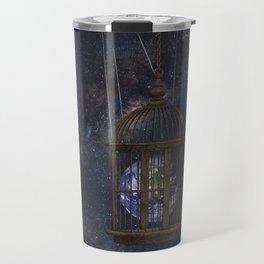 Surrealism Fantasy Earth Travel Mug