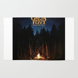 greta van fleet album from the fires Rug