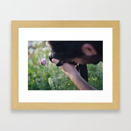 Shooting the Shooter Framed Art Print