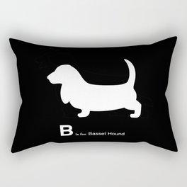 Basset Hound | Dogs Rectangular Pillow