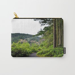 Deception Pass Bridge on Whidbey Island Carry-All Pouch
