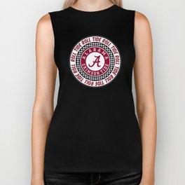 Alabama University Roll Tide Crimson Tide Biker Tank