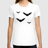bats T-shirts featuring Bats by Jessica Slater Design & Illustration