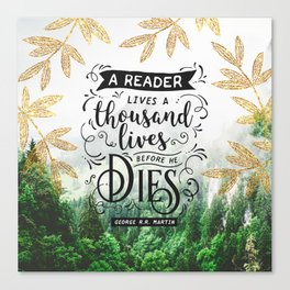 Thousand Lives Canvas Print