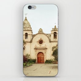 Carmel Mission iPhone Skin
