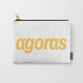Agoras cryptocurrency Carry-All Pouch