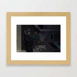 Extra Terrestrial Control Framed Art Print