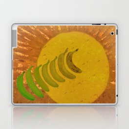 Go Green With Yellow Laptop & iPad Skin