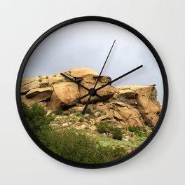 Santa Susana Mountains Wall Clock