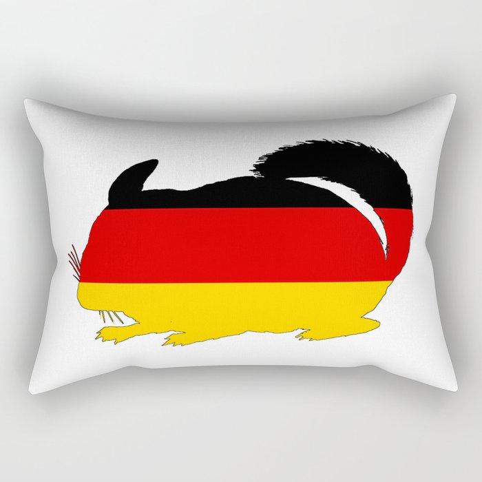 German Flag - Chinchilla Rectangular Pillow