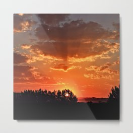 Idaho Sunset Metal Print