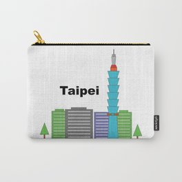 Taipei 101 Cityscape Carry-All Pouch