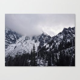 Lofty Mountain Grandeur Canvas Print