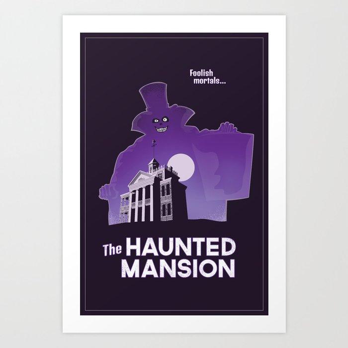 Hatbox Ghost - Land Art Print