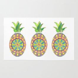 Pineapple Mandala Rug