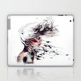 Her name I ask. Freedom, she replies.  Laptop & iPad Skin