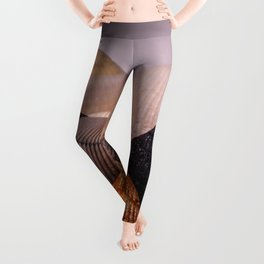 Different color shell Leggings