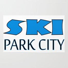 Park City Utah Apparel Rug