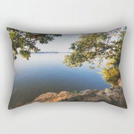 Morning on Lake Barkley Rectangular Pillow