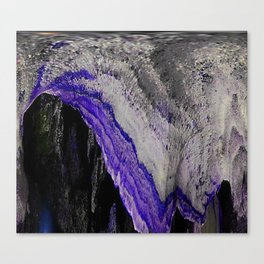 Spelunking In Purple Canvas Print