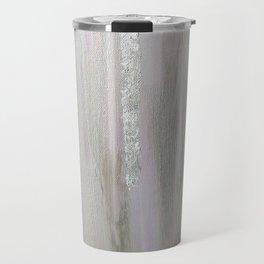 Lavender & Silver Travel Mug
