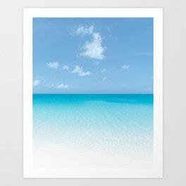 World's Most Perfect Beach Art Print