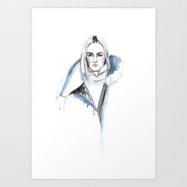 Sacai Art Print