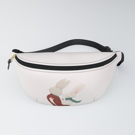 Couple of rabbits in love Fanny Pack