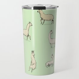 Llamas Travel Mug