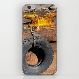 The Rusty Barge iPhone Skin