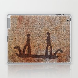 Pictogram at Vitlycke, Sweden 7 Laptop & iPad Skin