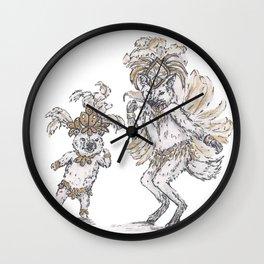 Tiny Dancer - Samba Wall Clock