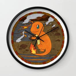 Charmande r Wall Clock