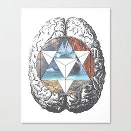 Balance // Anatomy x Geometry Canvas Print