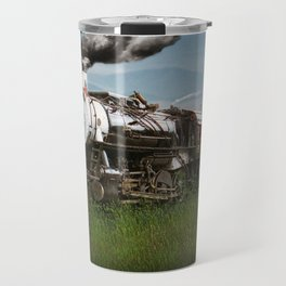 Smokey Mountain Railway Steam Locomotive Travel Mug