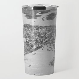 Vintage Pictorial Map of Seattle (1908) Travel Mug