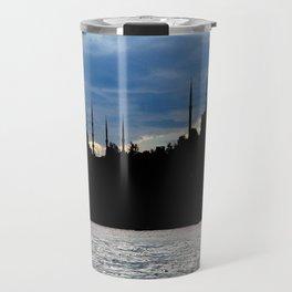 Sultanahmet Camii Skyline Istanbul Turkey Travel Mug