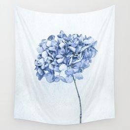 Hydrangea Blue 2 Wall Tapestry